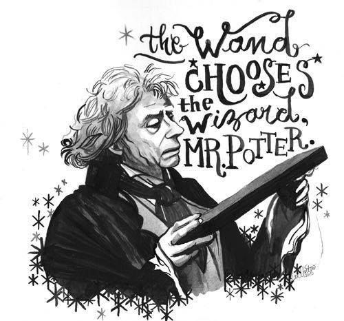Harry Potter: Olivander, the Wand chooses the wizard