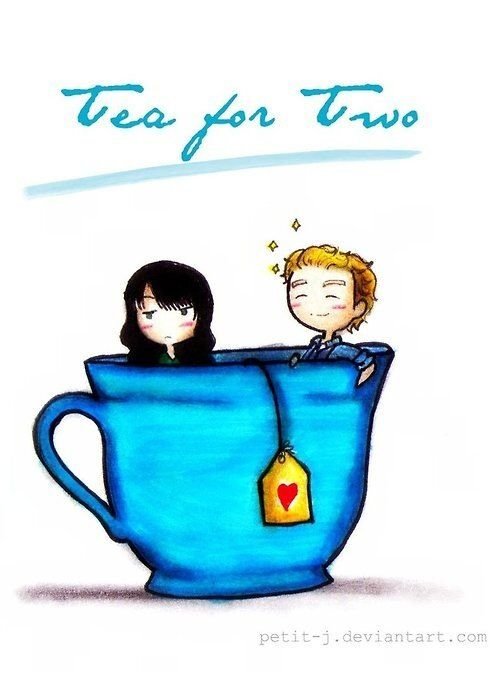 """Tea for two"" by Petit-J - Fandom: The Mentalist"