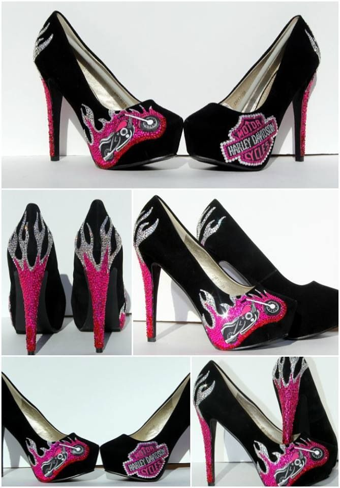 They might not be practical for riding, but they would look so damn HOT!  Love them!!