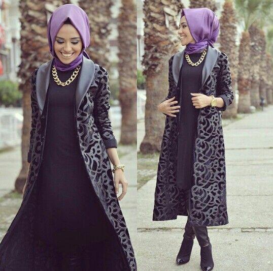 Hulya Aslan hijab fashion looks http://www.justtrendygirls.com/hulya-aslan-hijab-fashion-looks/