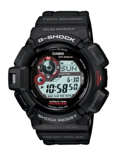 Casio G Shock Mudman G9300-1 Review http://www.tacticalgearslab.com/casio-g-shock-mudman-g9300-1/