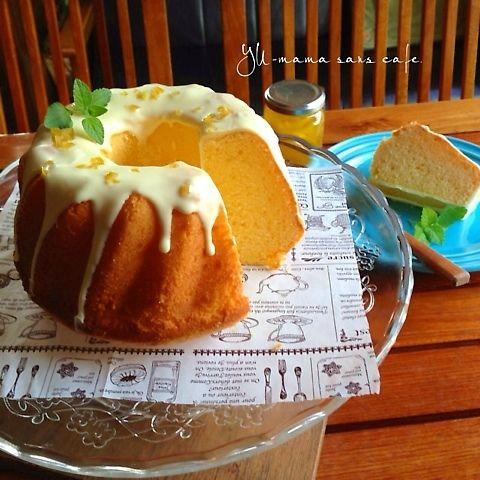 レモンケーキ♡ホワイトチョコをかけて♪キメが細かいタイプ* | ペコリ by Ameba - 手作り料理でつながるコミュニティ -