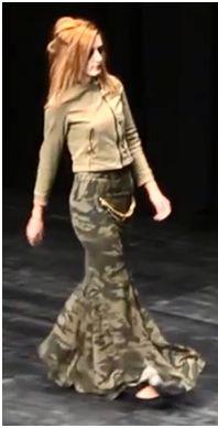 Moda casual y original con aires de flamenco. Diseño desenfrenado.