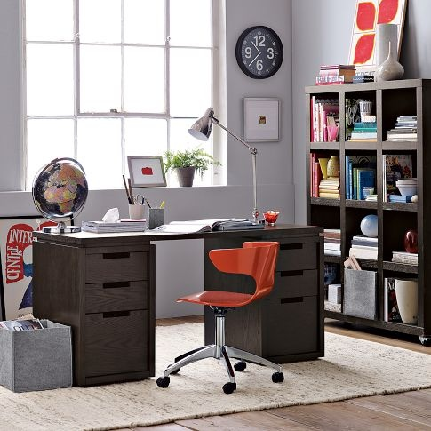 Modular Office Basic Desk Set | west elm