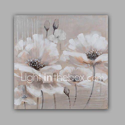 Pictat manual Abstract / Floral/Botanic Picturi de ulei,Modern / Clasic Un Panou Canava Hang-pictate pictură în ulei For Pagina de 5365545 2017 – €84.09