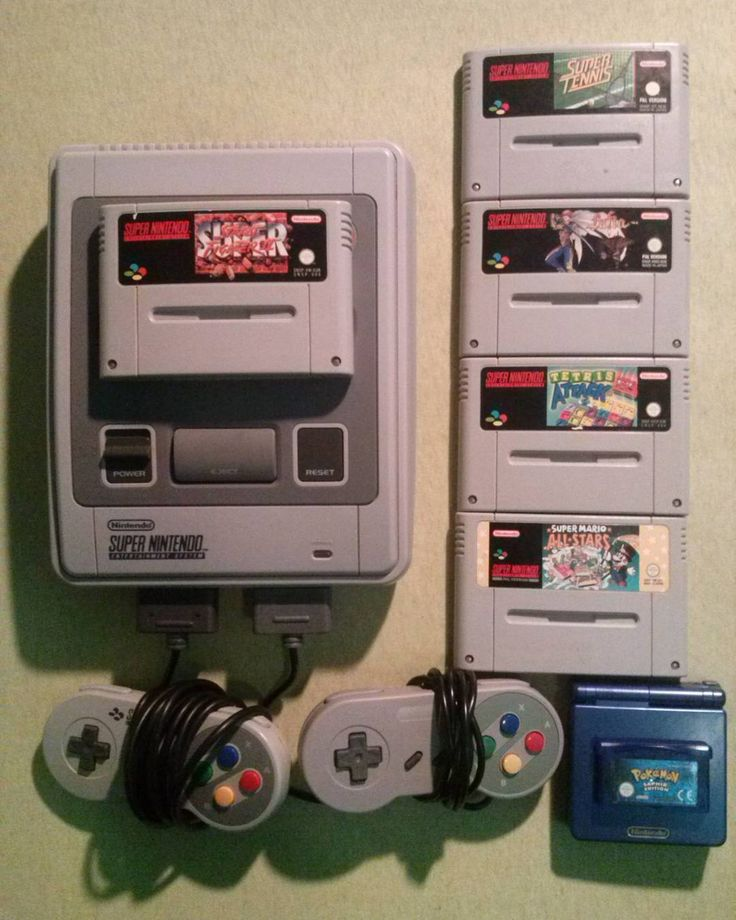 On instagram by eatyan25 #supernintendo #microhobbit (o) http://ift.tt/1M0aiWF new Nintendo stuff  #Nintendo #Snes #SuperNintendo #Retro #collection #collector #Pokemon #Saphir #Street #Fighter #Super #Tetris #Attack #Super #Tennis #Lufia #SuperMarioAllstars #Super #Mario #Allstars #Gameboy #AdvanceSP #retrendogames #retrocollectioneurope #rceurope #ringtossamiibo #vandalsgames