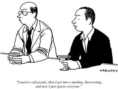 Communication.The New Yorker, Texting, Laugh, Email, Ignored Texts, Ignored Everyone, Call People, Yorker Cartoons, Humor