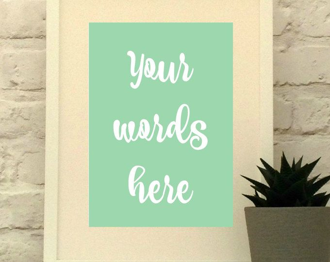 Your words here - Blogger Font - Use your favourite words to create a custom piece of art.