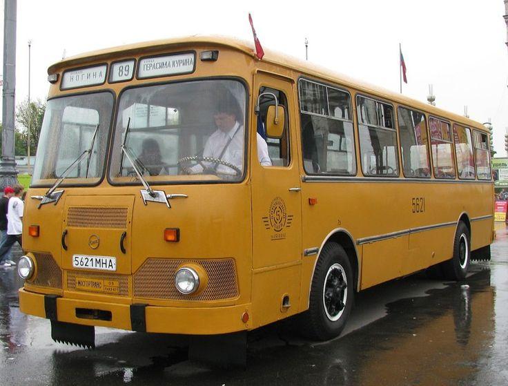 ЛиАЗ 677 - автобус детства или знаменитый и любимый