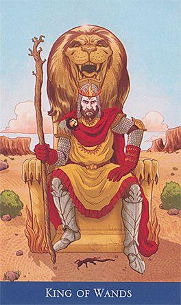 Resultado de imagem para king of wands tarot