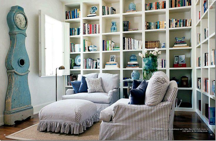Comfy cozy study.