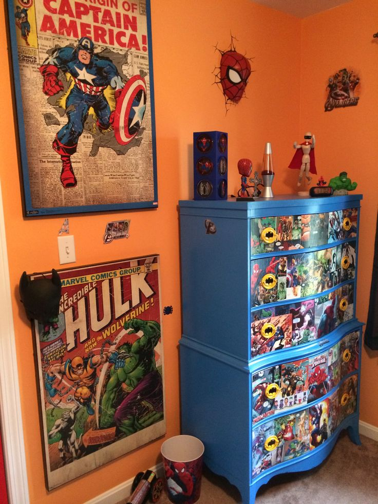 Comic bedroom ideas