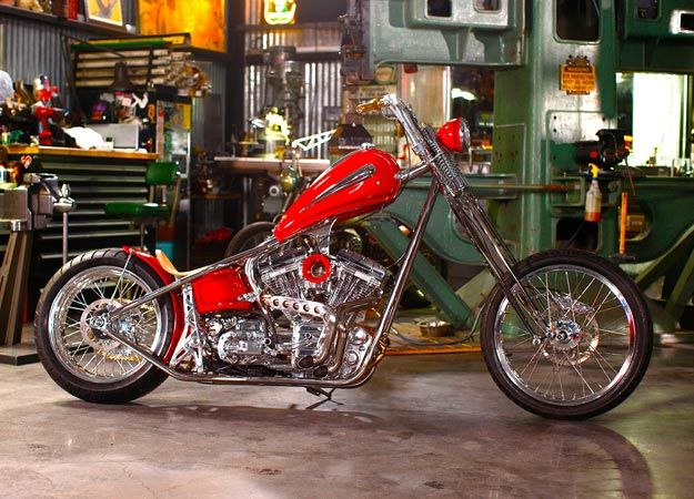 Jesse James Build-Off Bike