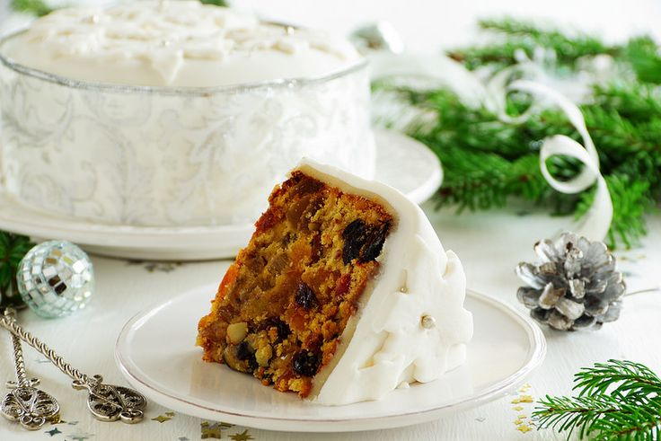 Traditional Christmas fruit cake with candied fruit and fruit.БРЮССЕЛЬСКИЙ ФРУКТОВЫЙ КЕКС.