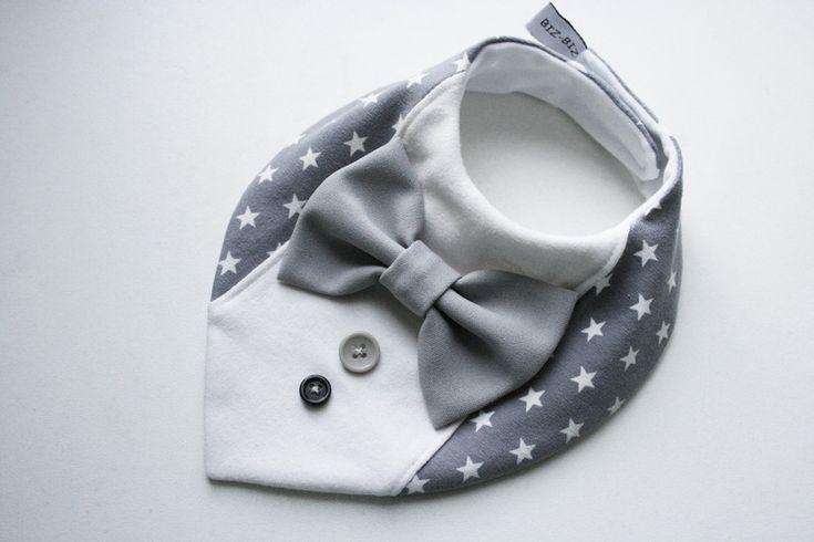 Halstücher - Schickes Sabbertuch für festliche Angelegenheiten - ein Designerstück von BizBizBaby bei DaWanda