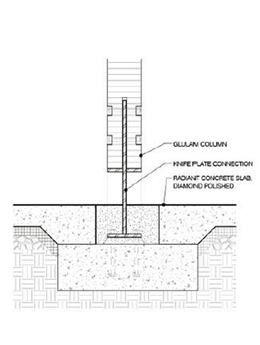 Column base detail