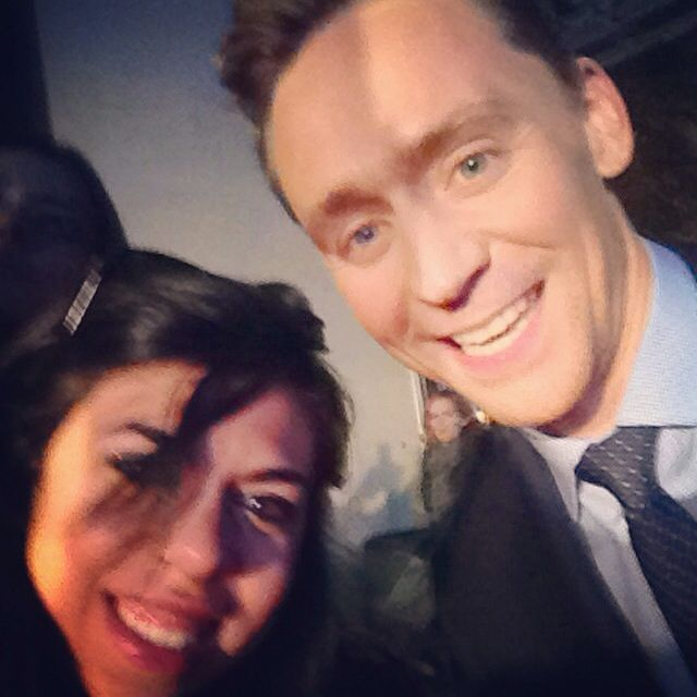 Me and #TomHiddleston <3