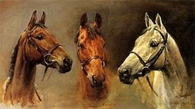 The Three Kings.  Arkle, Red Rum and Desert Orchid.