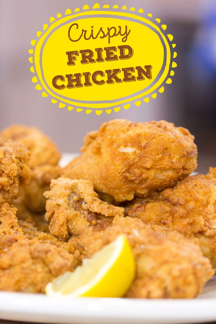 Crispy buttermilk chicken served with a secret ingredient that takes the flavor of the fried chicken to the next level.