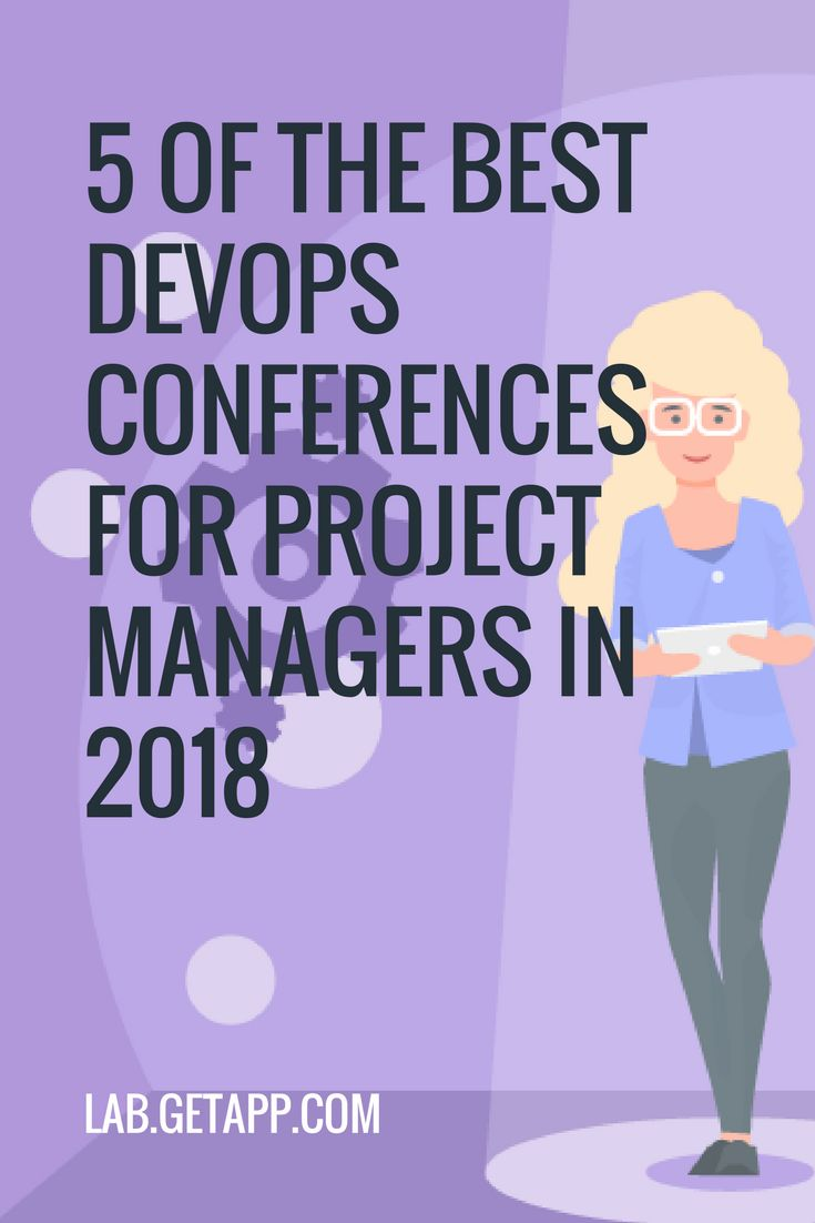 5 of the best DevOps conferences for project managers in 2018. Conferences are a great way to grow your network and knowledge of project management.  #projectmanagement #project #management #getapp #getapplab #2018 #conference #events #businessevent #skills #growth #goals #network #networking #managers #software #softwares #businesstips