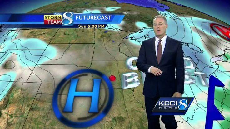 KCCI 8 Saturday weather videocast