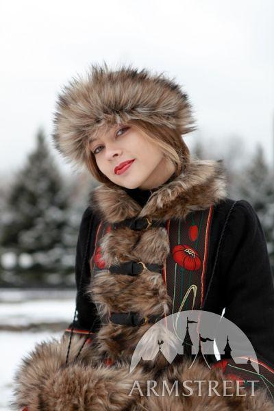 Kurzmantel Russisches Märchen aus Wolle