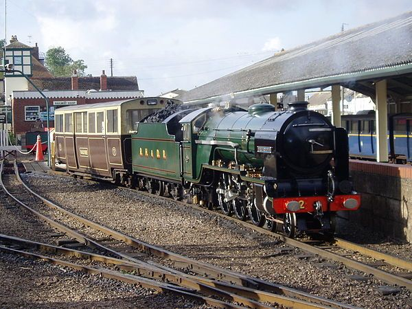 All aboard the Romney, Hythe and Dymchurch Railway for an August Bank Holiday special!