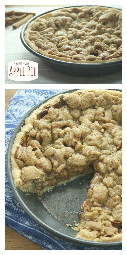 Cookie Crumble Apple Pie [Gluten Free]