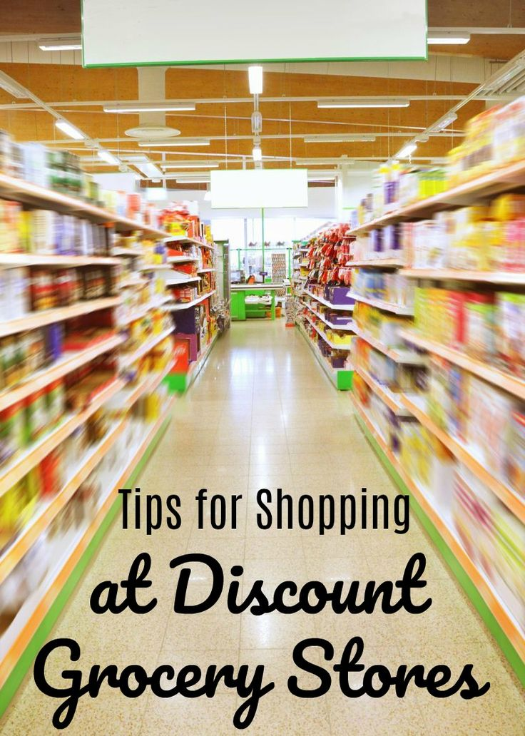 How to shop at the surplus discount grocery store. How to stretch your dollars. Tips for shopping at a discount grocery store.