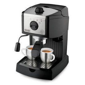 Delonghi Stainless Steel Automatic Espresso Machine Ec155