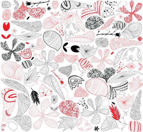 Pattern, nature, vector
