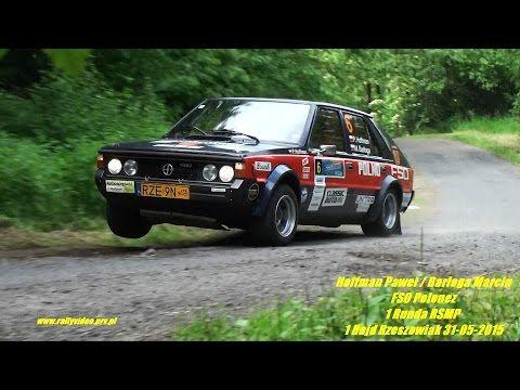 Hoffman Paweł / Barłoga Marcin - FSO Polonez - 1 Runda RSMP 1 Rajd Rzeszowiak 31-05-2015 - YouTube