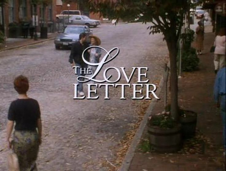 the love letter 1998 the letter hallmark the letter 1998 12585 | 520a6c90dc324b063530409d3194a015