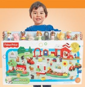 NEW Fisher-Price Little People Giant Farm Set $98