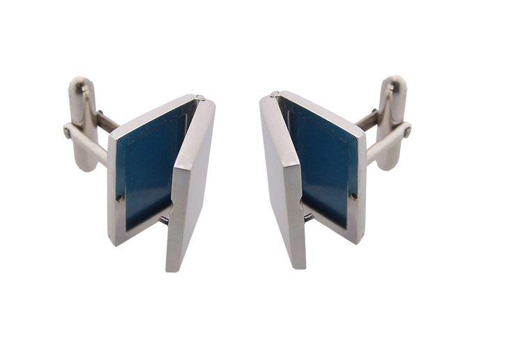 Cufflinks - LOCKET - Sterling Silver