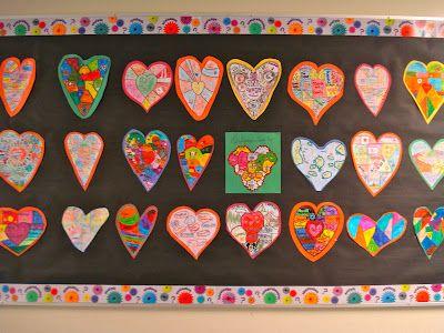 Heart maps...1st week of school activity?