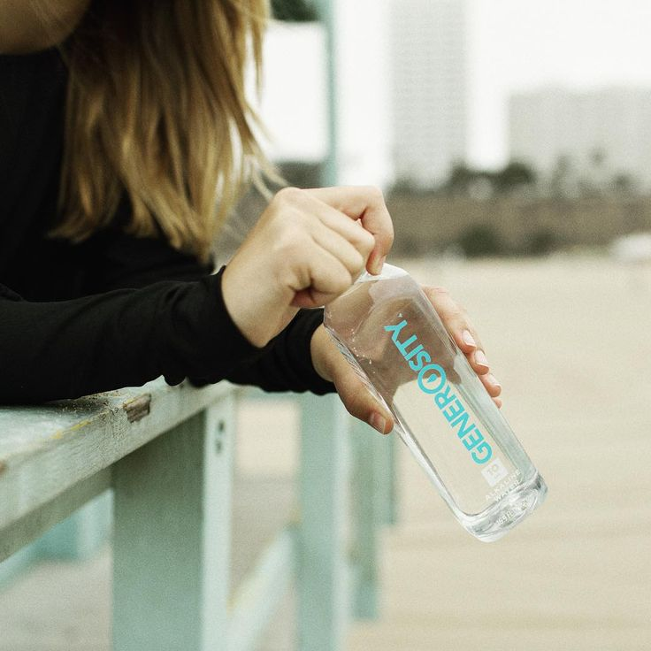 Beach workouts are better with #AlkalineWater. Our perfect pH 10.0 can boost your metabolism and help your body absorb nutrients more effectively. #GenerosityWater