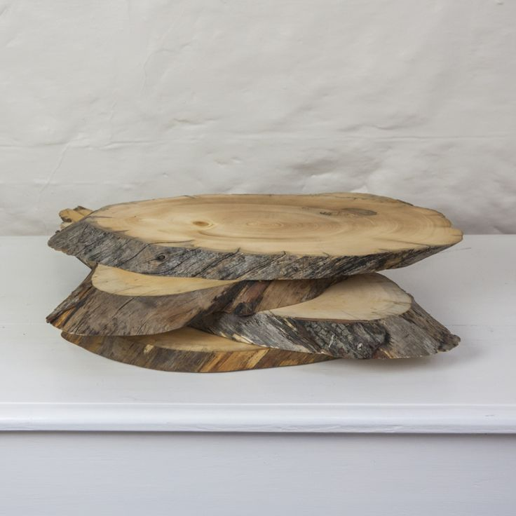 wood wedding card holders%0A wood slices  Style my day  Wedding and Event  Hire and styling