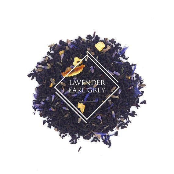 Lavender Earl Grey tea Lady Grey Loose Leaf Tea Black by aTeastory