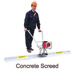 Concrete Screed