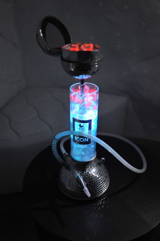 Unicum Hookahs withFrom a Russian Restaurant / Hookah lounge: http://k-smoke.ru/gallery.html Ice <-- more modern options