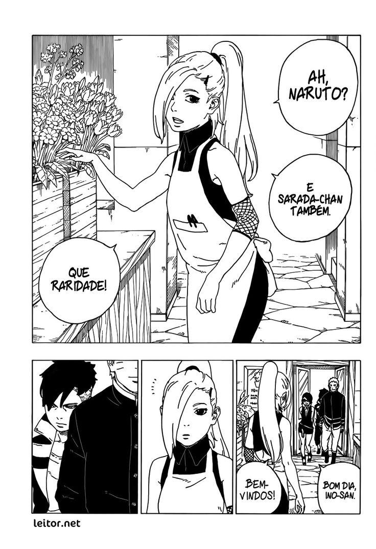Boruto mangá Capítulo 28 Boruto, Naruto e Manga