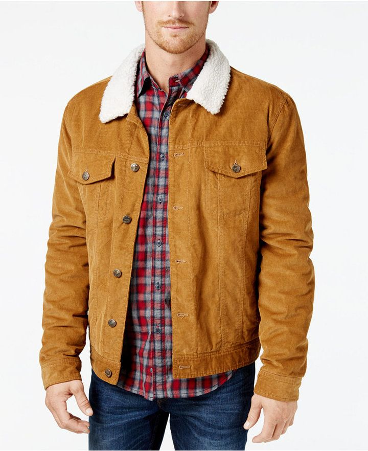 Weatherproof Vintage Men's Corduroy Trucker Jacket, Created for Macy's