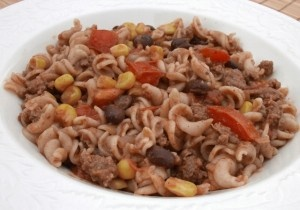 Sharing My Southwest Pasta Skillet at $5 Dinners