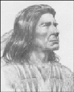 Blue Jacket or Weyapiersenwah, his Indian name (c. 1743 – c. 1810) was a war chief of the Shawnee people, known for his militant defense of Shawnee lands in the Ohio Country. Perhaps the preeminent American Indian leader in the Northwest Indian War, in which a pan-tribal confederacy fought several battles with the nascent United States, he was an important predecessor of the famous Shawnee leader Tecumseh.