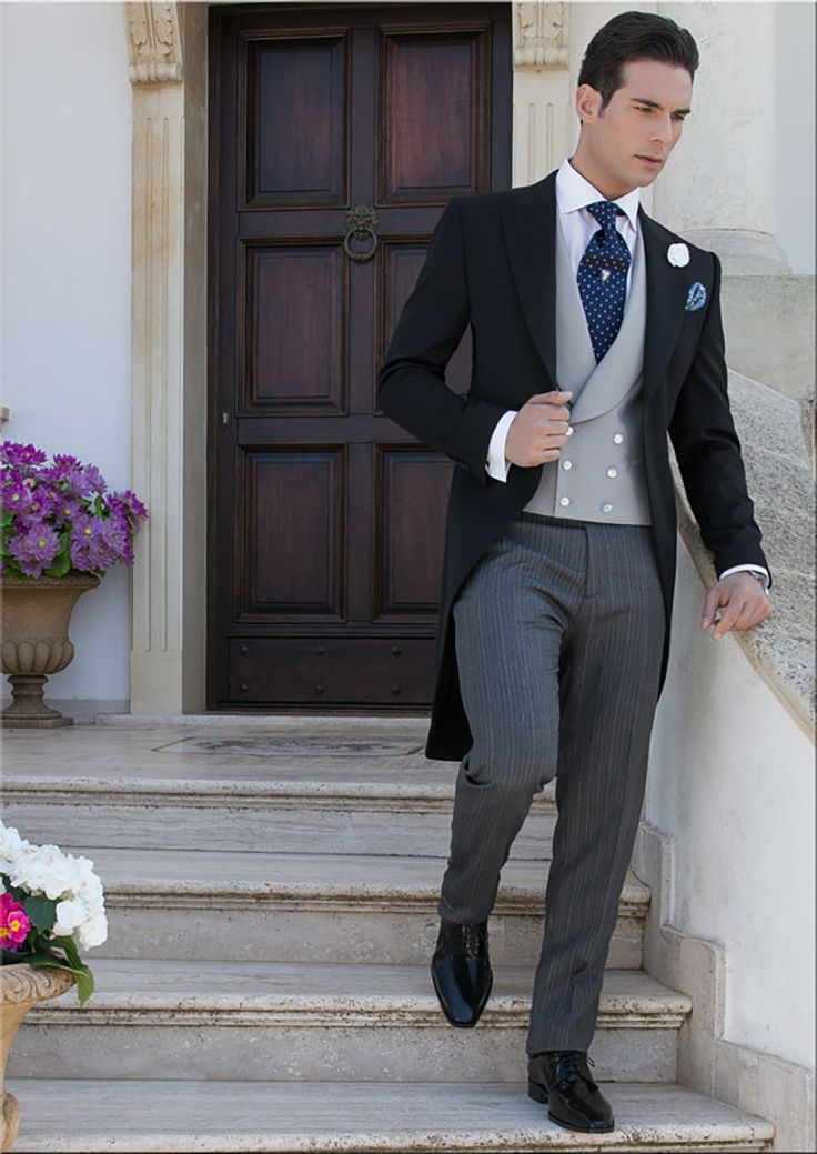 Wedding Ideas by Colour: Grey Wedding Suits - Traditional choice | CHWV