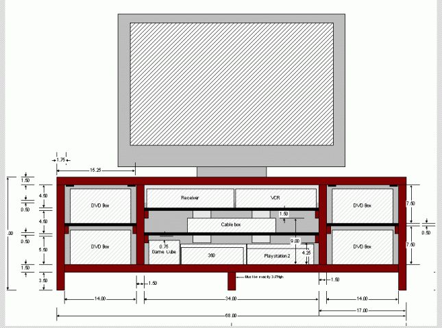 how to build shelves in a metal shed tv stand plans blueprints how rh s3 amazonaws com
