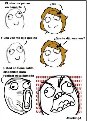 Memes en español - Una voz me dijo que no
