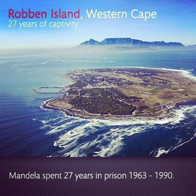 #nelsonmandela was detained at the notorious Robben Island where South Africa's most feared prisoners were incarcerated. For 27 years he would be taken sidelined from the anti apartheid struggle and his loved ones. #Mandela was finally released on 11 January 1990. #history #peace #love #legacy #legend #mandela #southafrica #shotleft #robbenisland #mandelamemorial