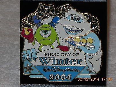 Disney WDW First Day of Winter 2004 Monsters Inc. Mike Abominable Snowman Yeti